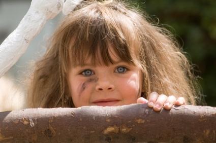 dirty little girl