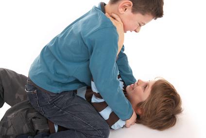 aggressive boys