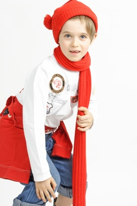 Christmas boy santa