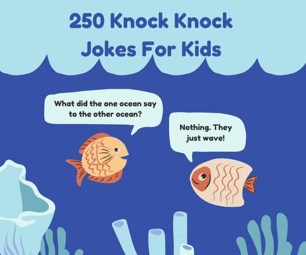 250 Knock Knock Jokes For Kids