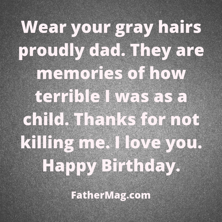 dad birthday quote