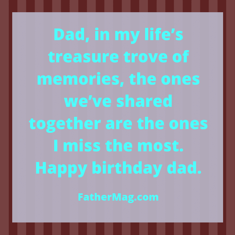 dad birthday wishes