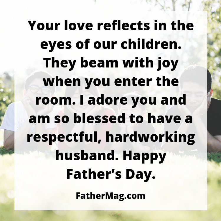 Image of: Inspirational Quotes Fathers Day Quotes For Husbands Filmetriks 100 Fathers Day Quotes For Husbands With Images Fathering Magazine