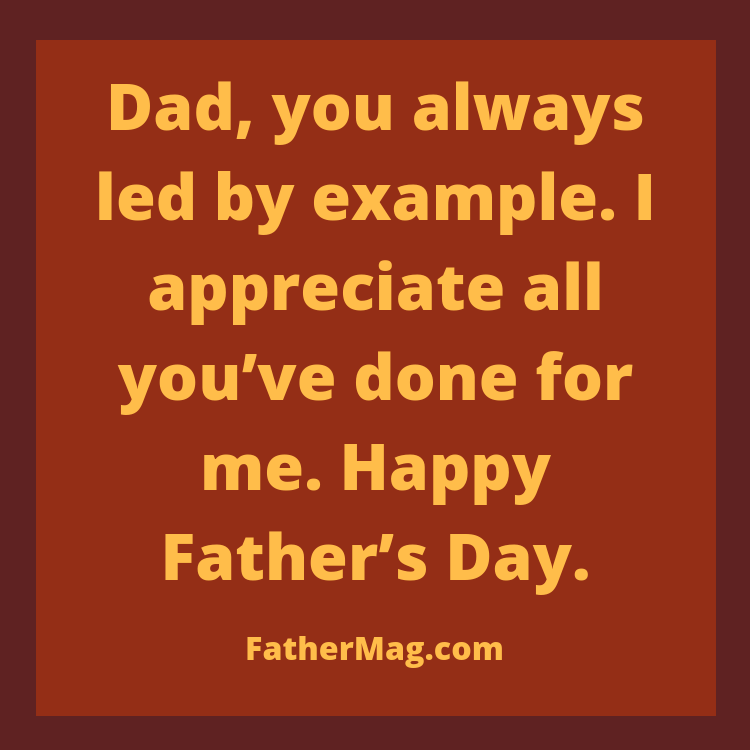 happy father's day wish