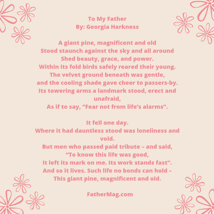 21 Father Poems with Images - Fathering MagazineI Love My Dad Poems That Will Make You Cry