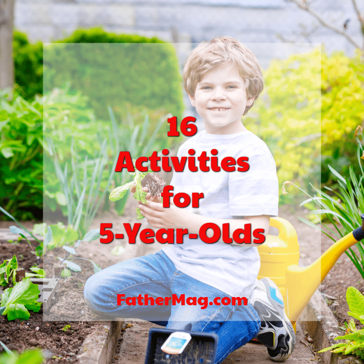 activities for 5 year olds