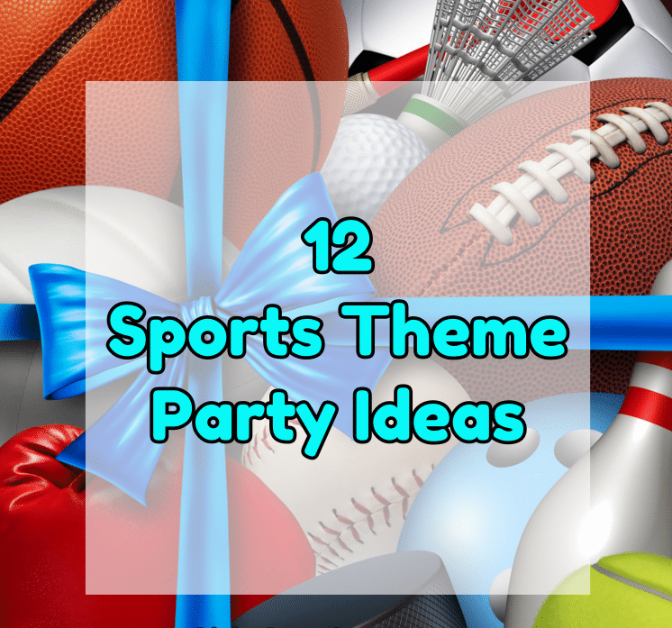 sports theme party ideas